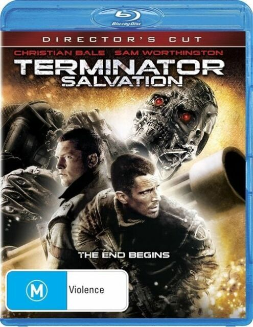 Terminator Salvation (Blu-ray, 2009) region 4 Australia like new condition