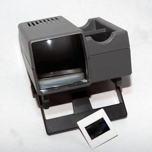 Ap professionale sovrapponibile Caricamento 35mm Visore per diapositive 5x5