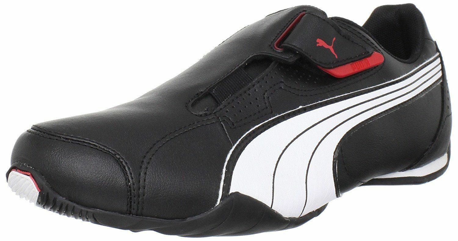NIB MENS PUMA 185999 02 REDON MOVE  SHOES SNEAKERS  BLACK-WHITE-RED Cheap and beautiful fashion