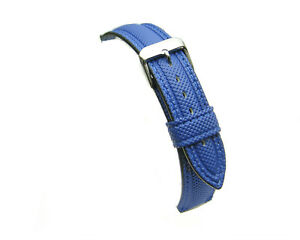 Royal-Blue-water-resistant-divers-silicon-watch-strap-18mm-20mm-22mm