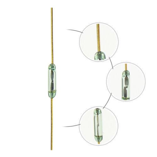 RD01 10pcs 7.1mm Magnetico In Miniatura Interruttori Reed Normalmente Aperto Nuovo