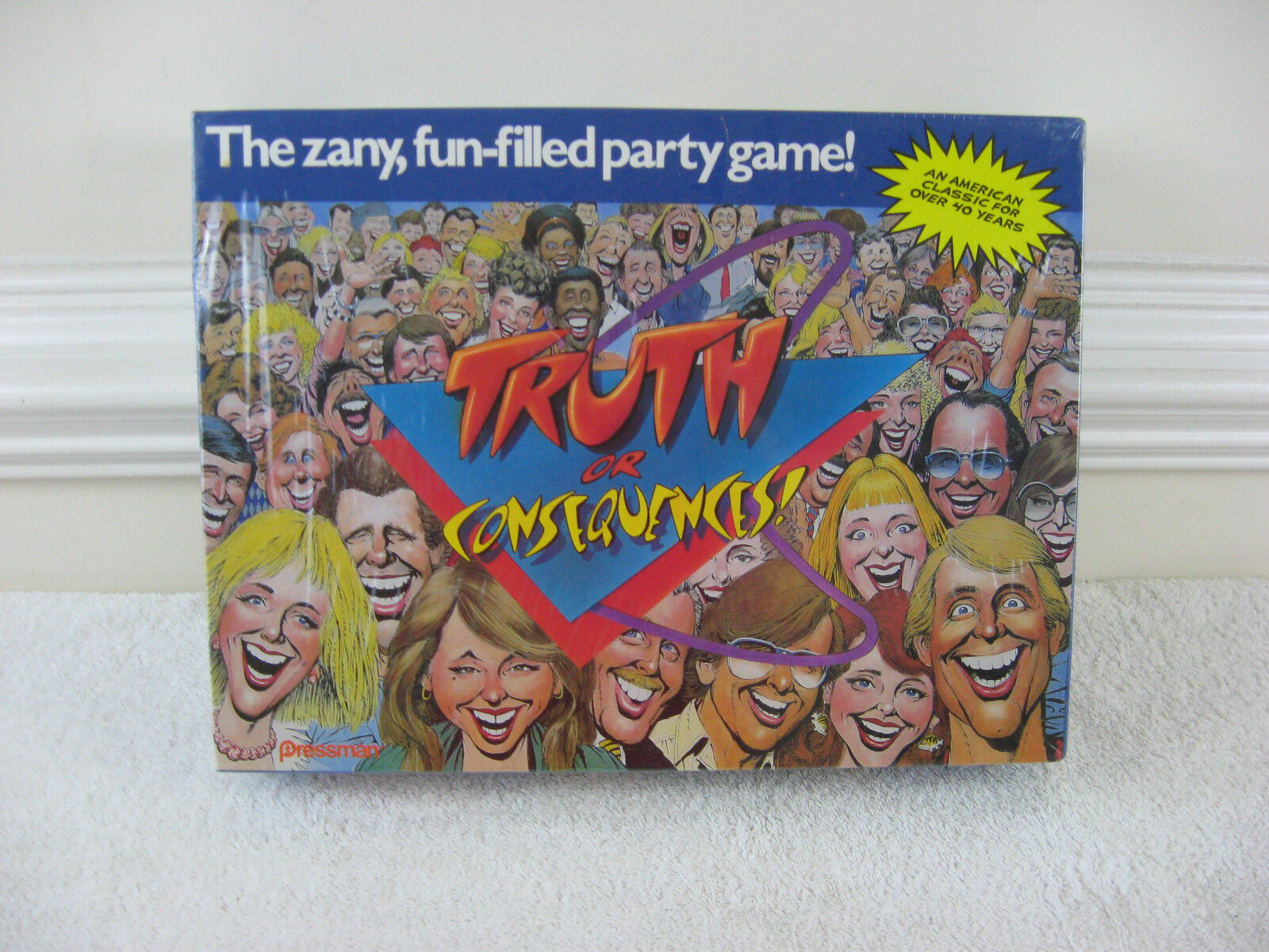 Vintage 1988 Truth or Consequences gioco By PressuomoNOSFactory  Sealed  liquidazione fino al 70%