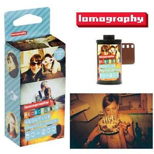 Lomography Redscale XR 50-200 Color Negative Film (120 ...
