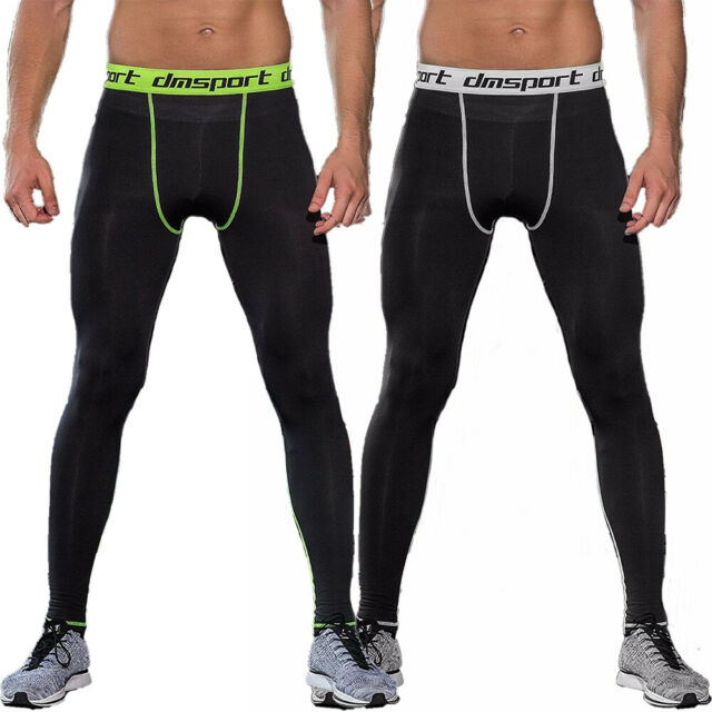 Mens Compression Long Pants Sports Thermal Running Jogging Base Layer Tight fit