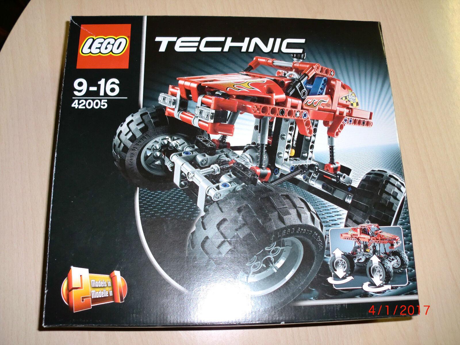 Lego Technic 42005 como nuevo con ba y OVP, Top, ver imágenes