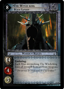 LOTR: The Witch-king Moderately Played Morgul King The Return of the King Lor