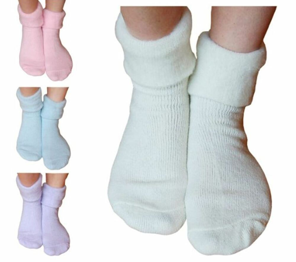 3 Paires Femme Sleeperzzz Moelleux Brushed Lounge Lit Chaussettes-mixte Pastel