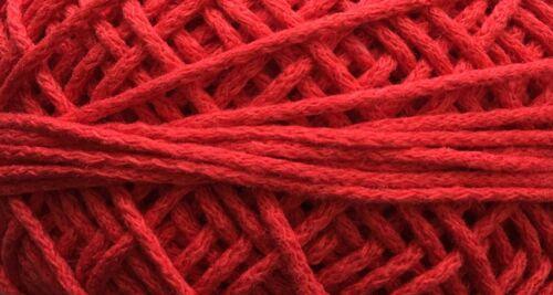 5 Meter 0,20€//m oder 50 Meter 0,18€//m Baumwollkordel 3mm Kordel Baumwolle Schnur