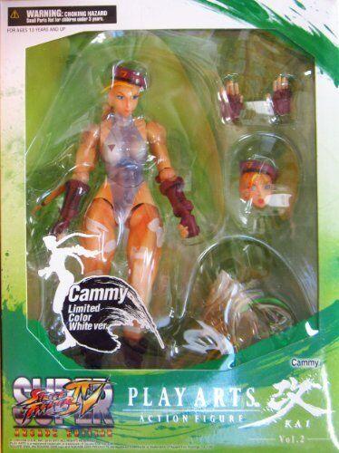Street Fighter IV Play Arts Kai Arcade Vol.2 Figure 8  Limited White ED. Cammy