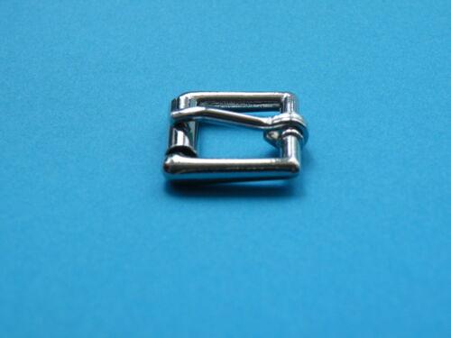 "20mm 3//4/"" Single Roller Buckle Nickel Nickle Collar Handbag Belt Buckles Horse"