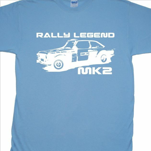 Ford Escort MK2' T-Shirt (Rallye, RAC, klassisches Auto, Mexiko)