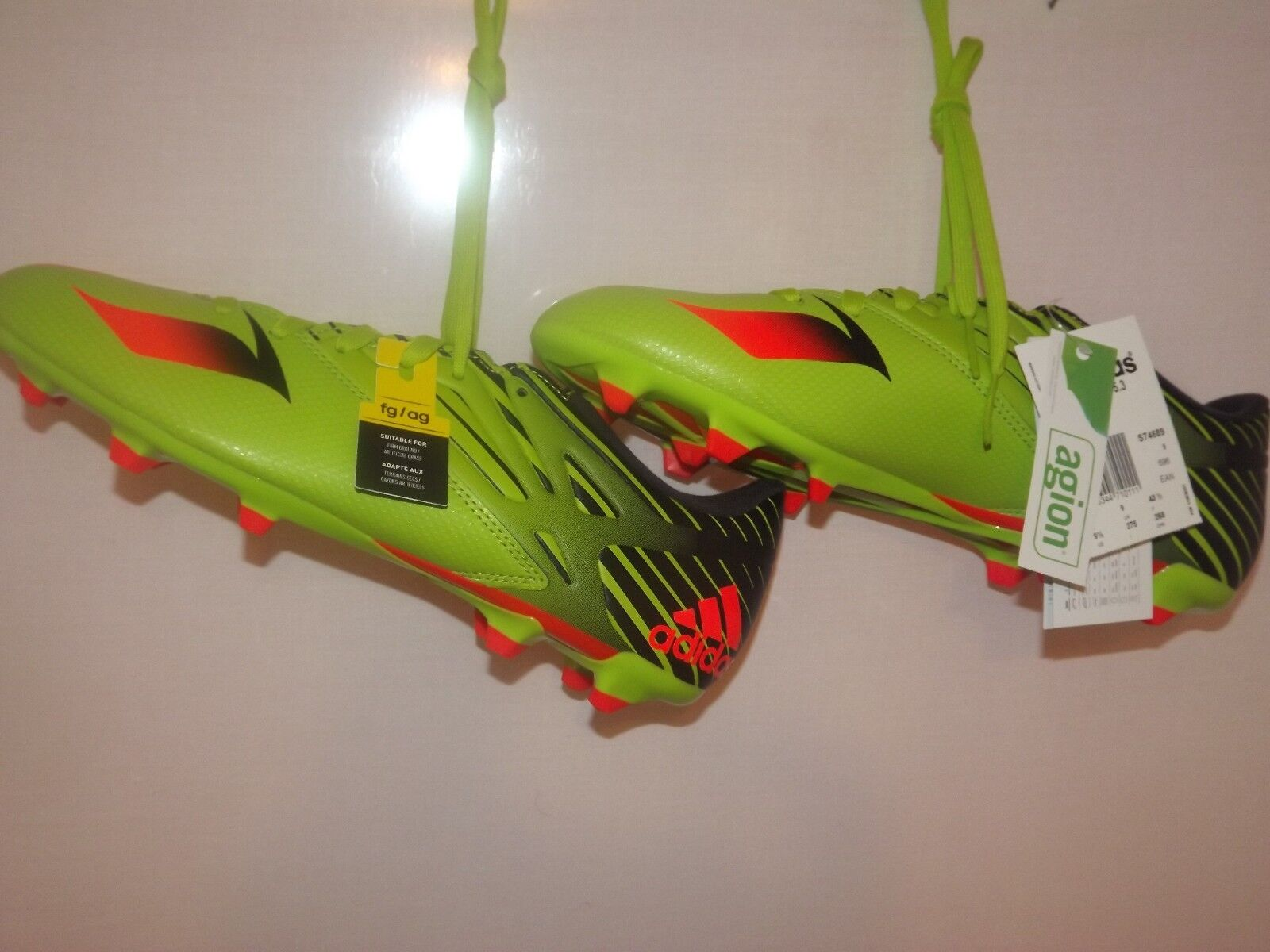 ADIDAS MESSI 15.3 FG  MENS FOOTBALL BOOTS 9UK (ORIGINAL) 02