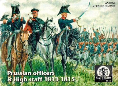 Waterloo 1815-058 1:72 Prussian Officers /& High Staff