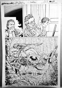 The All New Atom #1 p7 John Byrne DC 2006 inks by Trevor Scott