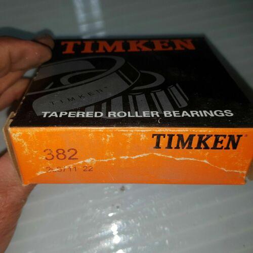 TIMKEN 382 NEW IN BOX 382