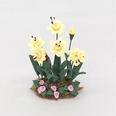 FAST DELIVERY MADE IN AMERICA NARCISSUS Miniature Dollhouse Picture