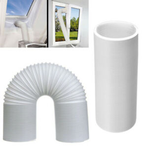 2//3M Flexible Air Conditioner Exhaust Pipe Vent Hose Tube 130mm Dia Duct Outlet
