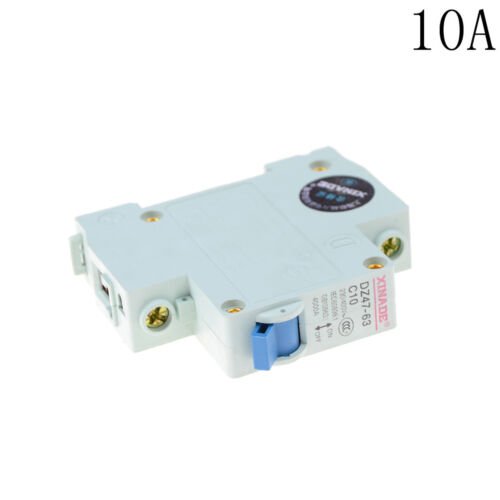 10-63A  Circuit Breaker DZ47-63 230-440V 1 Pole Overload Proetction Switch RAS