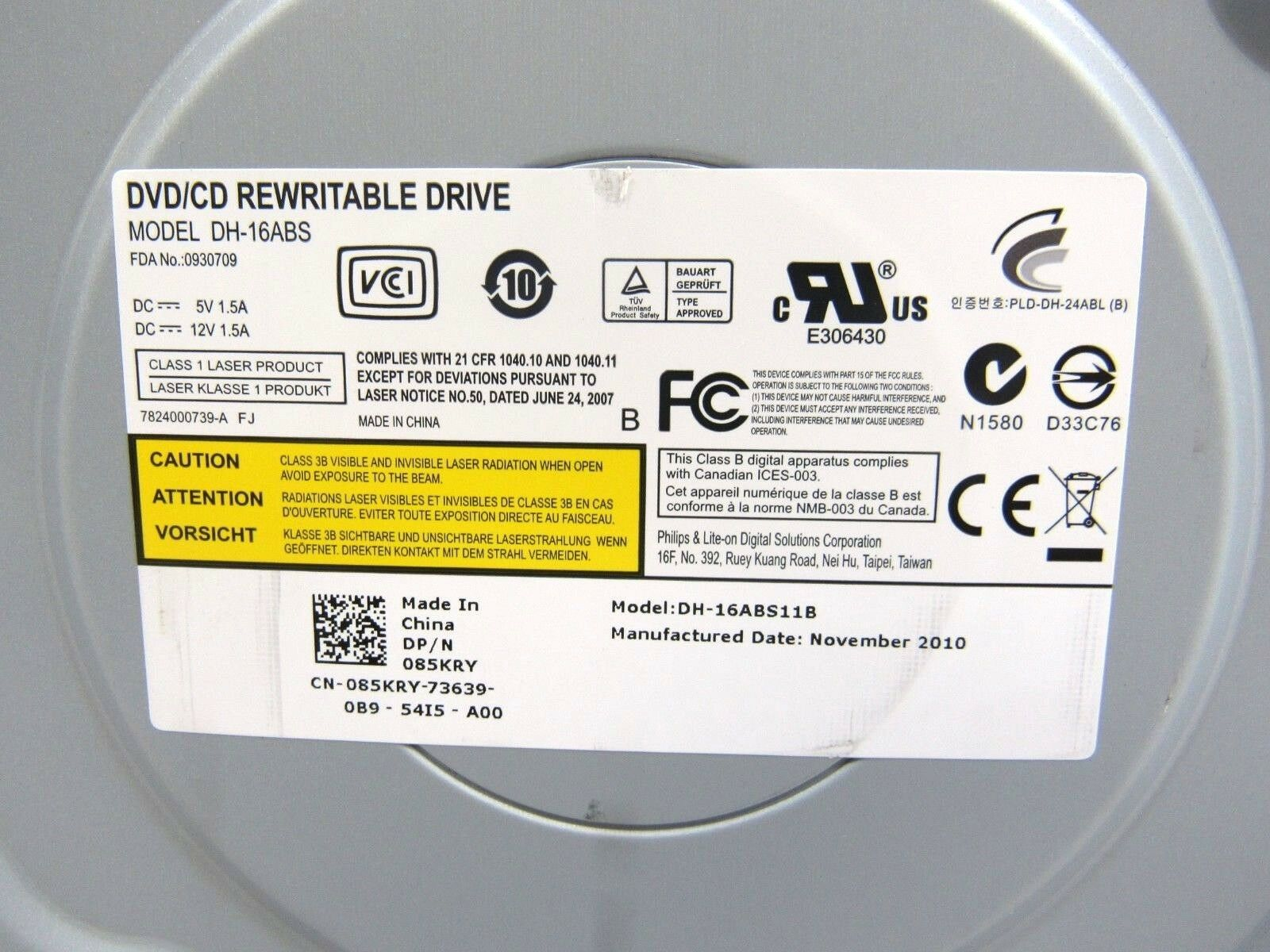 PLDS DVD RW DH-16ABS DRIVER UPDATE