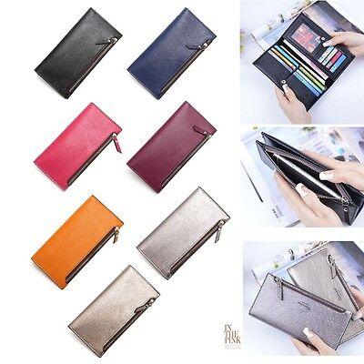Fashion Women Lady Clutch Envelope Wallet Long Card Holder Case Purse Handbag