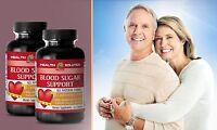 Blood Sugar Test - Blood Sugar Support - Dietary Supplement 2 Bottles 120 Caps
