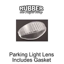 1951 1952 Ford Truck Parking Light Lens w Gasket - Clear