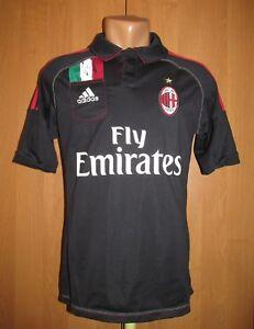 feb885d84eecf A imagem está carregando Ac-Milan-2012-2013-Terceira-Camisa-De-Futebol-