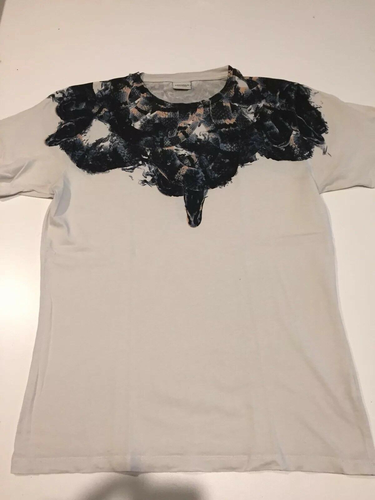 Marcelo Burlon T hemd Girocollo Serpenti Ghost