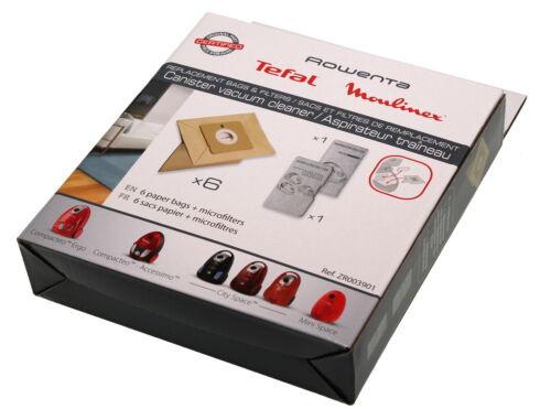 Rowenta zr003901 sacs pour aspirateur pour ro173301 ro1755ga ro2451wa, ro176701