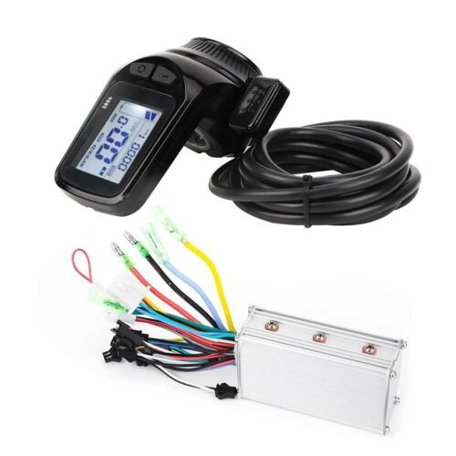 24-48V EBike LCD Display Panel Electric Bicycle Scooter Brushless Controller Kit
