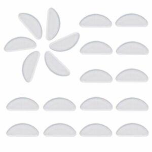 Eyeglasses Nose Pads, 10 Pair 1mm Glasses Adhesive Silicone Anti-Slip Pads