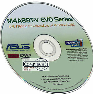 New Drivers: Asus M4A88T-V EVO AMD RAIDXpert