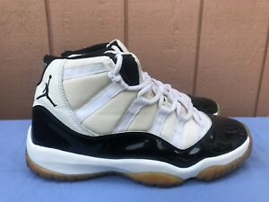 d02ca521d83 2000 Air Jordan XI 11 US 12 Retro WHITE BLACK CONCORD BRED PATENT ...