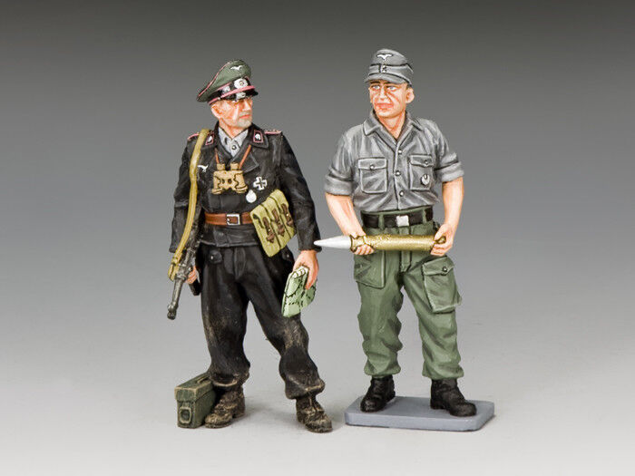 KING AND COUNTRY WW2 German SPG Crew Members WH060