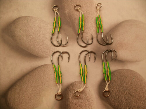 6 pack of Double Assist Hooks.The biggest selection of colours /& sizes on .