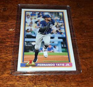 Fernando Tatis Jr 2020 Topps Throwback Thursday #TBT #23 PRINT RUN /474 PADRES!