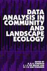 Data Analysis in Community and Landscape Ecology by O. F. R. van Tongeren, R. H. G. Jongman, C. J. F. Ter Braak (Paperback, 1995)