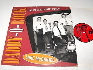 Luke McDaniel Daddy-O-Rock The Rock and Country Side Hydra Records BLK 7715