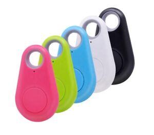 Mini inteligente resistente al agua Bluetooth Etiqueta Rastreador GPS para Mascota Perro Llaves Billetera Bolsa Niños