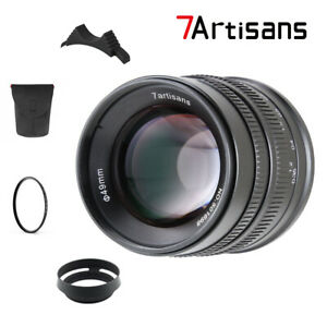 7artisans 55MM F1 4 MANUAL Fixed LENS For Sony E Mount A7, A7II, A7R