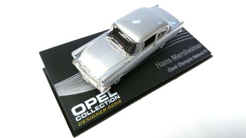 1//43 AUTO DIECAST MODELLAUTO CAR IXO 123 OPEL Olympia Rekord P1 design