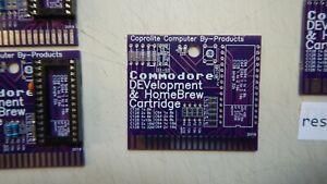 Commodore-64-C64-C128-NEW-bare-HomeBrew-DEVelopment-cartridge-board-8-32k-2019