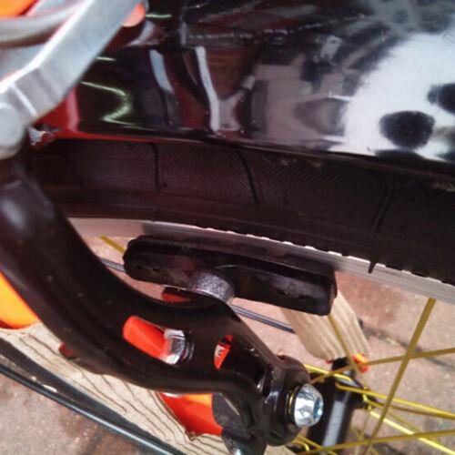 1 Paar 70mm Gummi Fahrrad Bremsbelag V Bremsbelag Zyklus Bremsblock Halterung Sa