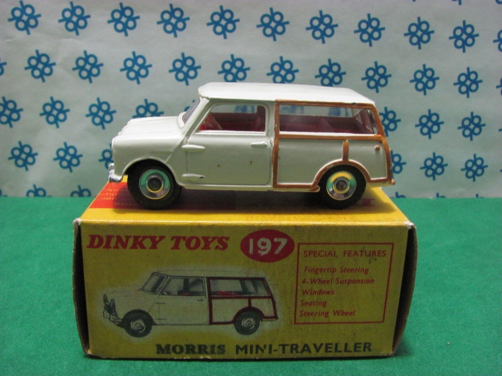 Vintage - Mini Morris Traveller - Dinky Toys 197 New - Mint in Box