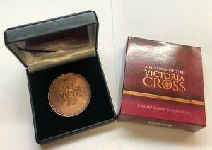 Australia-2014-10-Copper-Antique-For-Valour-Victoria-Cross-RARE