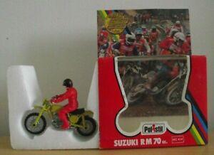 Polistil - MC 414 Suzuki RM 70cc - 1/24 scale - Mint Model in Box (ODD132)