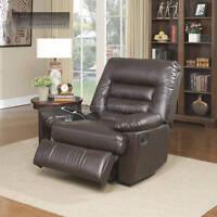 Memory Foam Lazy Chair Recliner Big & Tall Back Massage Smartphone Charging Port