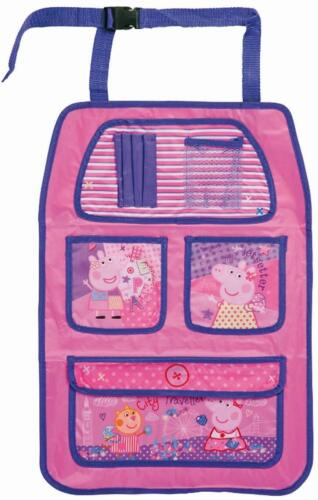 Peppa Pig Kinder Auto Rücksitz Ordentlich Aufbewahrung Halter Hängende Organizer