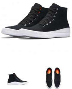 621acf645308f6 CONVERSE Quantum Shield Canvas Shoes HI BLACK WHITE 153642C Men 9 ...