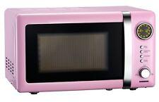 Mikrowelle rosa / pink Mikrowellengerät Melissa 16330112 Microwave 20 Liter